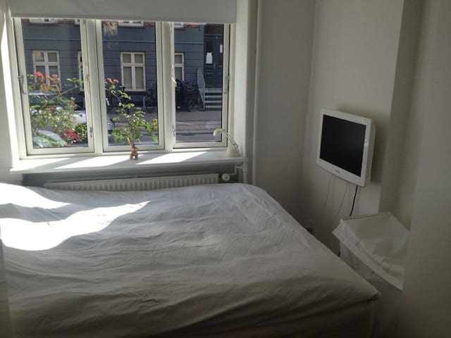 Cozy apartment for two in trendy neighborhood. - Kopenhagen - Appartement