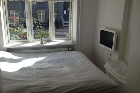 Cozy apartment for two in trendy neighborhood. - 코펜하겐(Copenhagen) - 아파트
