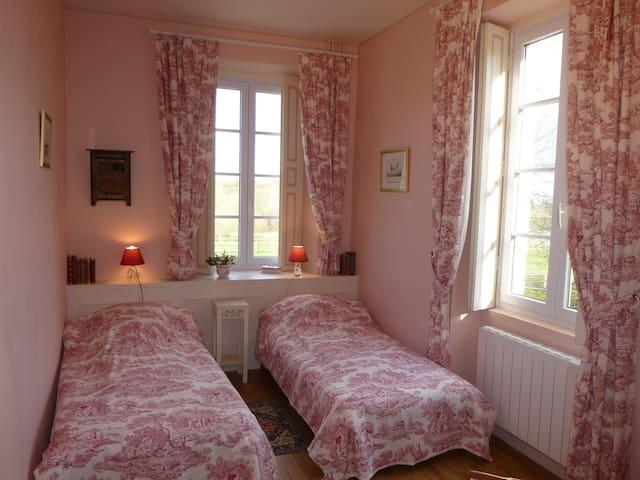 Chambre d'hôtes au Manoir de Princé-Neuf (19e) - Chéméré