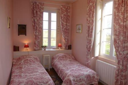 Chambre d'hôtes au Manoir de Princé-Neuf (19e) - Chéméré - Bed & Breakfast