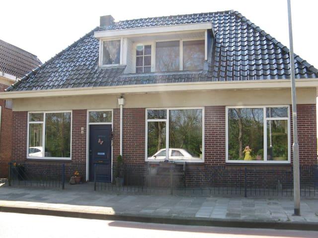 Gezellig oud Dijkhuis - Bad Nieuweschans - House