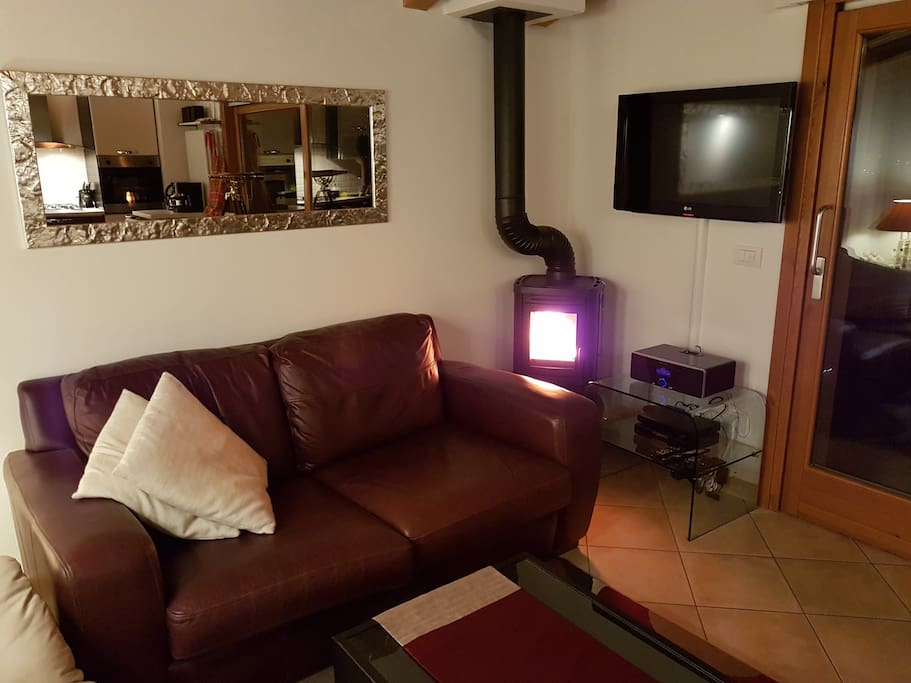 Centrally heated throughout with cosy log burner in lounge as well