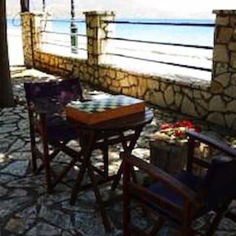 Paralia Tolofonos Σπίτι με θέα