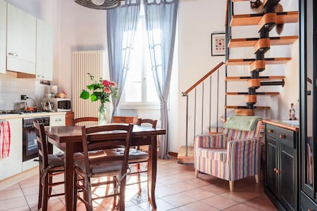 Spacious studio with mezzanine - Bologna - Apartment