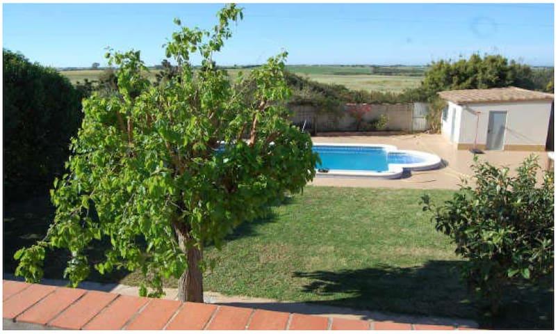 Finca Mora, hübsches Anwesen auf dem Land mit Pool - Chiclana de la Frontera - Ház