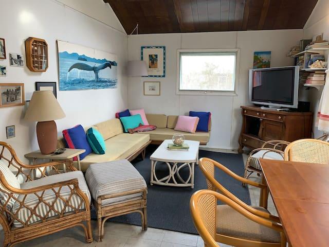 Lovely beach cottage in Fair Harbor, Fire Island