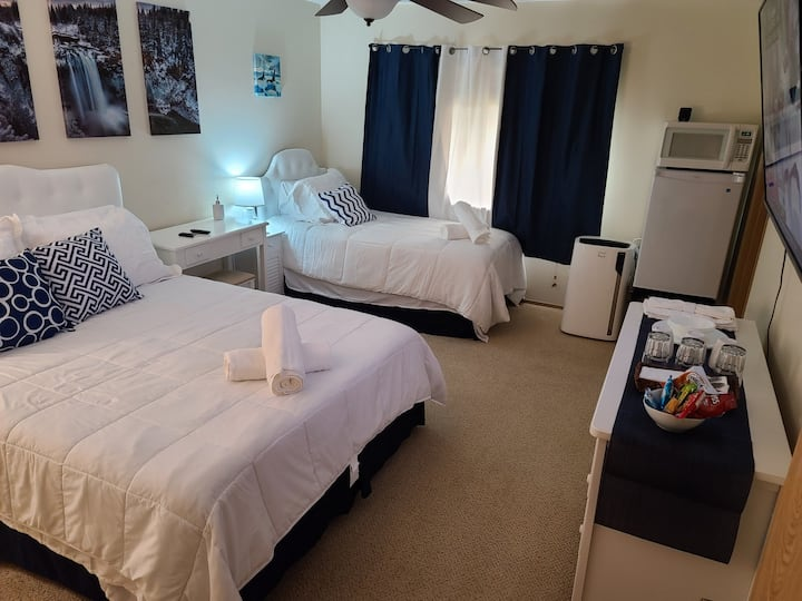 🌟 CASCADE Room near Tacoma Dome, JBLM, Waterfront