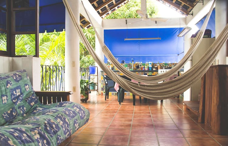 Casa Azul - Private room for 2 or 3 people