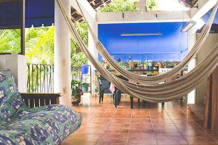 Private room for 2 or 3 people - Puerto Escondido - Maison