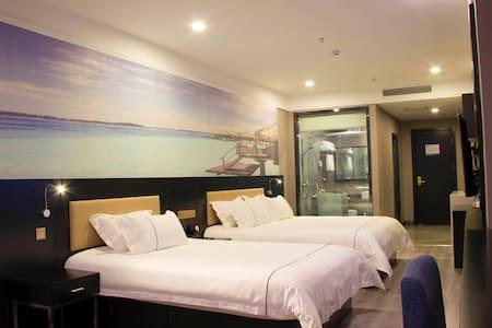拜登盛邸服务公寓(青岛井冈山路店)高级亲子房 - Qingdao - Appartement