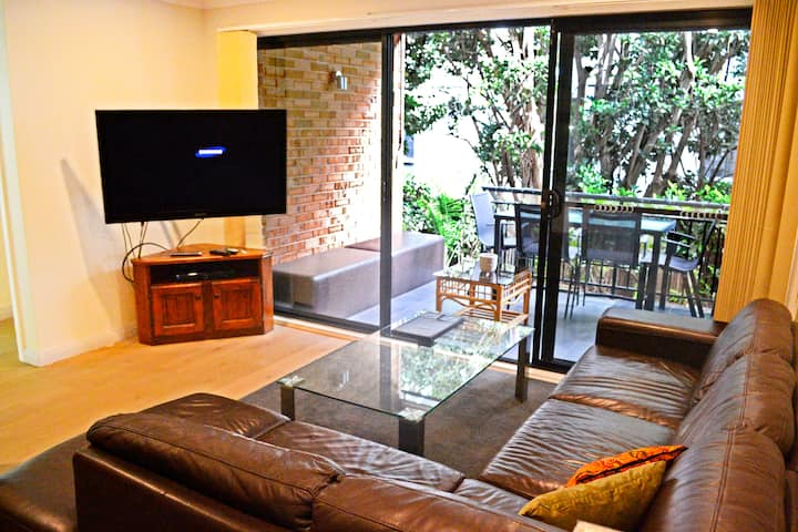 Northern Beaches Gem w/ Large Outdoor Patio & BBQ