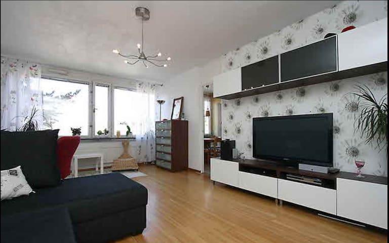 Apartment 62m2, Skogås 20min Stockholm City - Huddinge - Pis