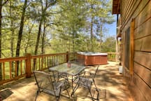 Seclusion at Hideaway Mountain - View Cabin