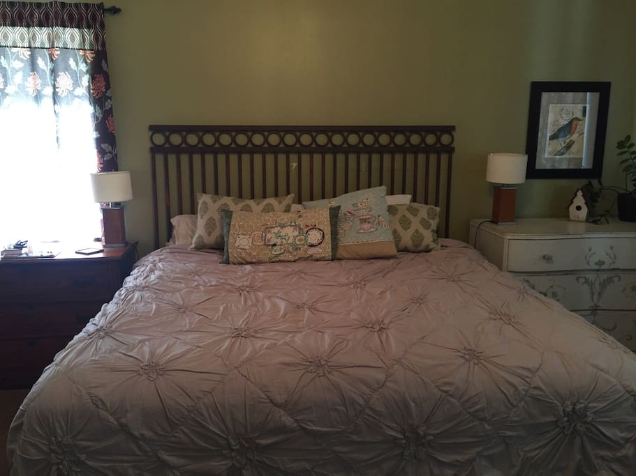 Eastern King sized bed-medium firm