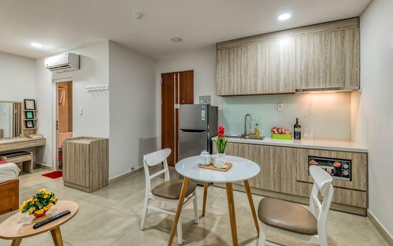 Cherry Apartel | Studio Room| Pool & Fitness