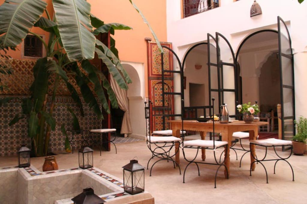 Riad ineslisa 3 welcome at home chambres d 39 h tes for Chambre 13 maroc