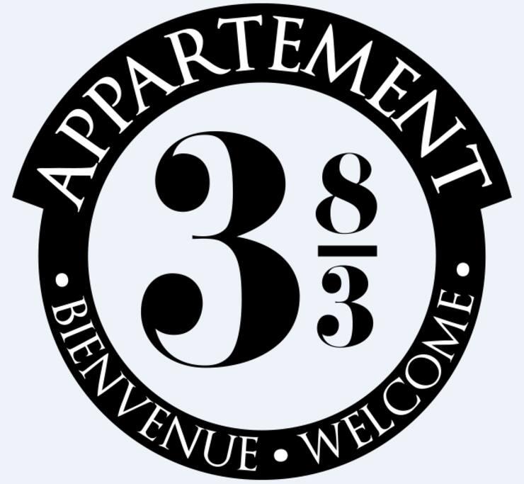 Le logo de l'Appartement 383...un indice pour la thématique !?