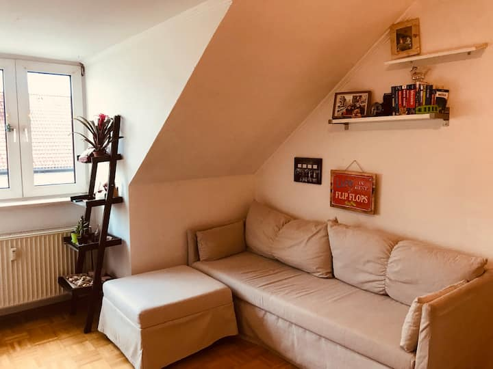 BRIGHT , cosy apartment In MAXVORSTADT! Top floor