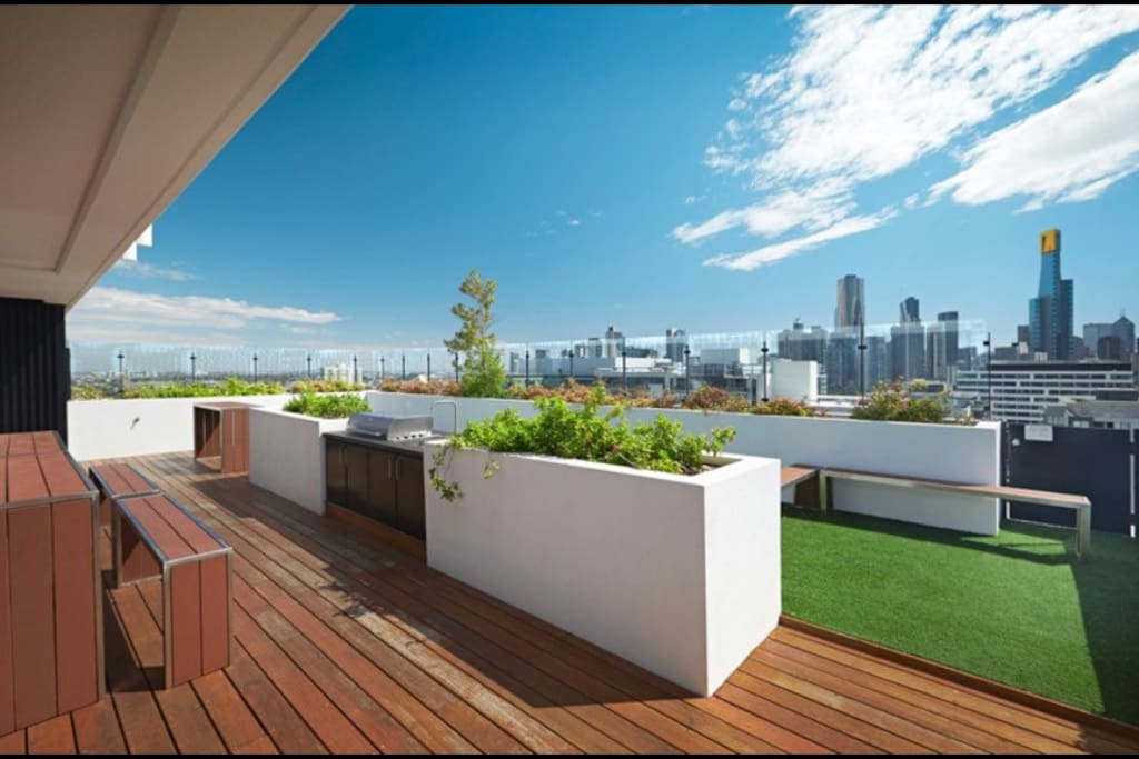 Amazing views from communal area on 15th floor.