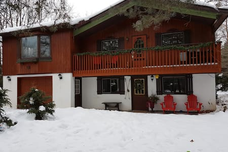 Chalet next to Mt St Louis Ski Resort - Moonstone - Chatka w górach