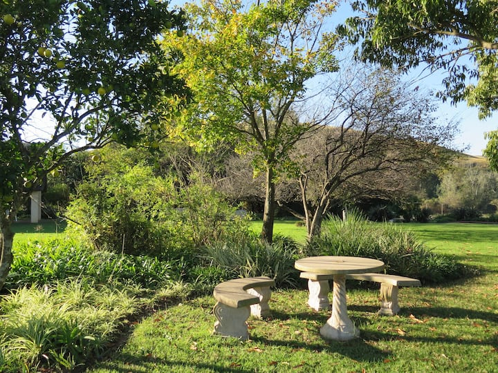 Sacred Farmhouse Garden Suite