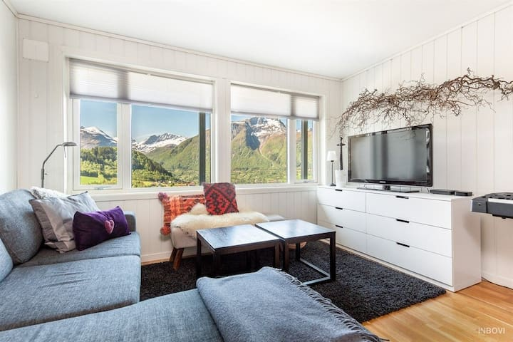 Big apartment near skiresorts and Geirangerfjord