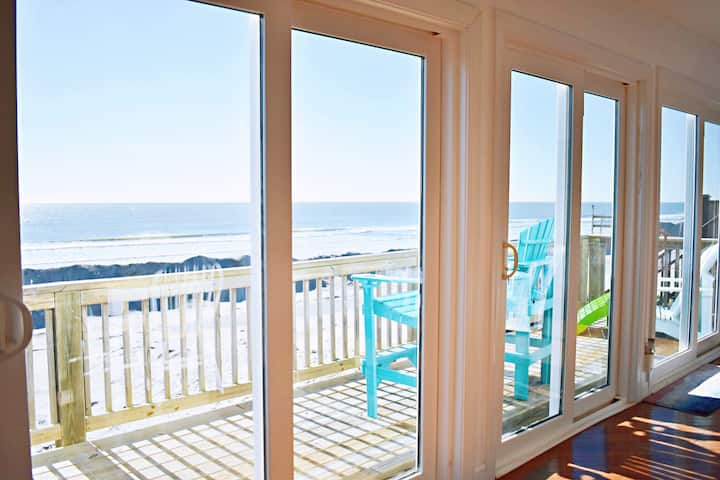 Oceanfront House in N Topsail Beach
