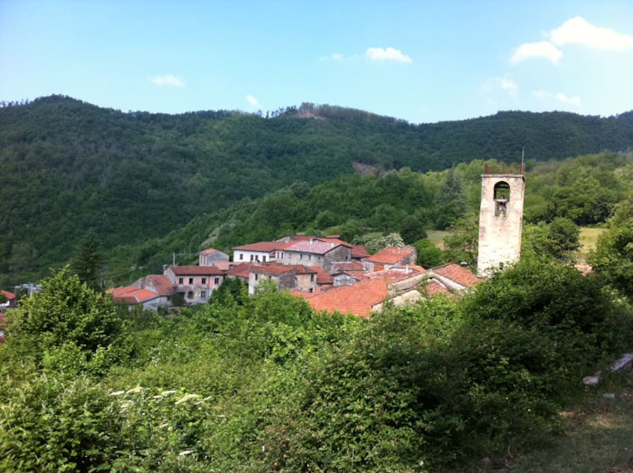 Quarazzana's hamlet
