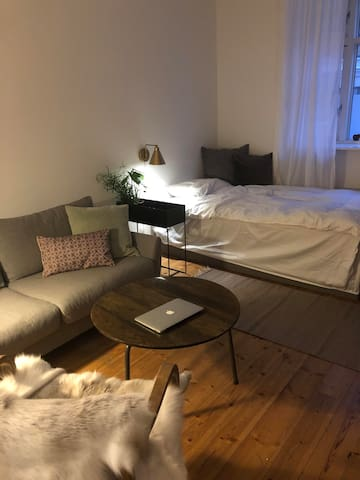 Apartment with nice, quiet and central location