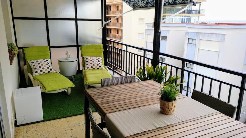 Apartamento con vistas al mar en Salou