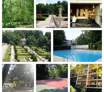 F4 85m2 + piscine + tennis - Chilly mazarin - 아파트