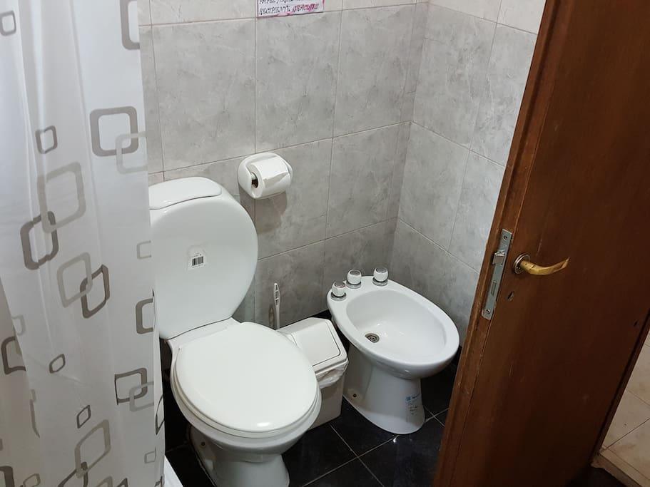 Cabaña 1 - Baño