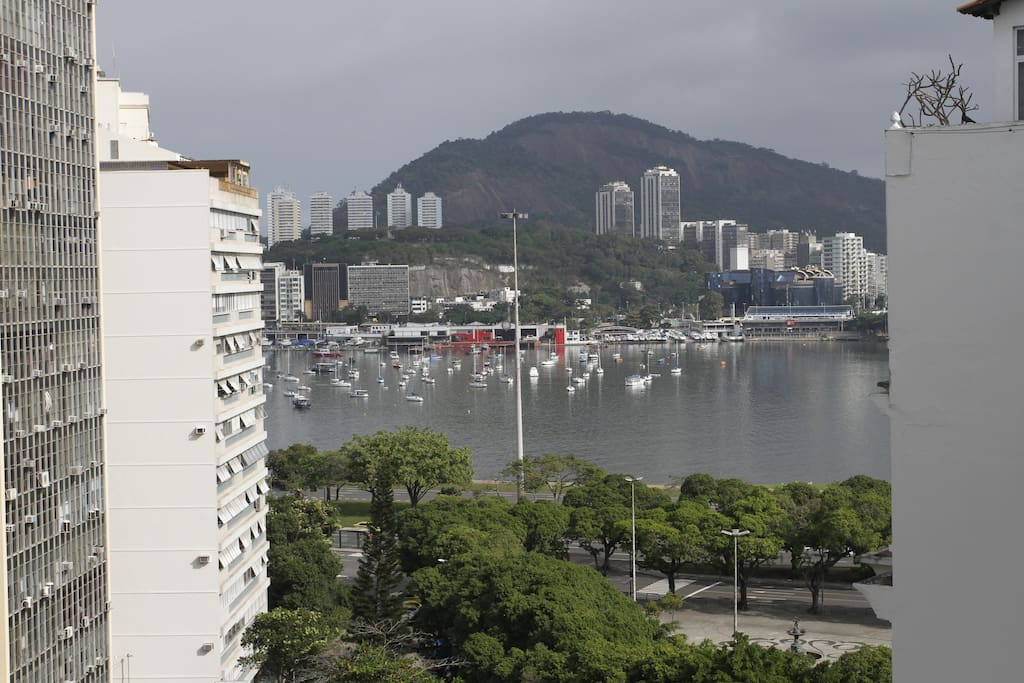 View from the Double Room (incredible Guanabara's Bay)