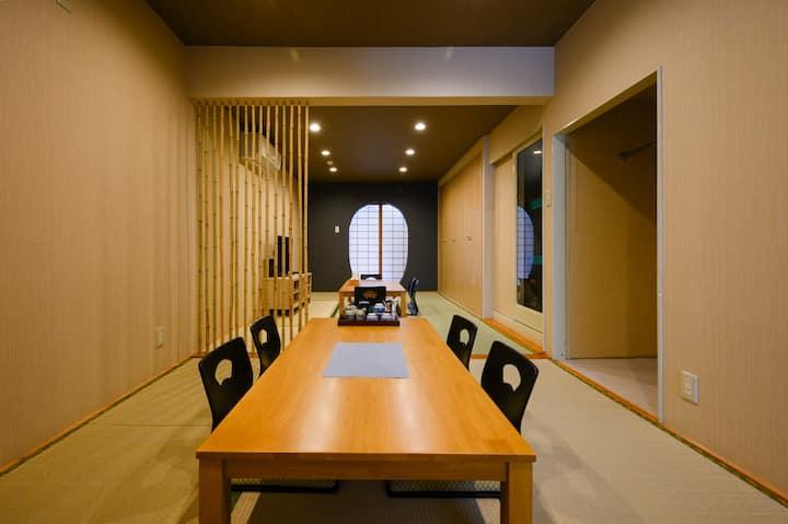 Tamade-Tei, Japanse Trad House Max 6 pax near sta.