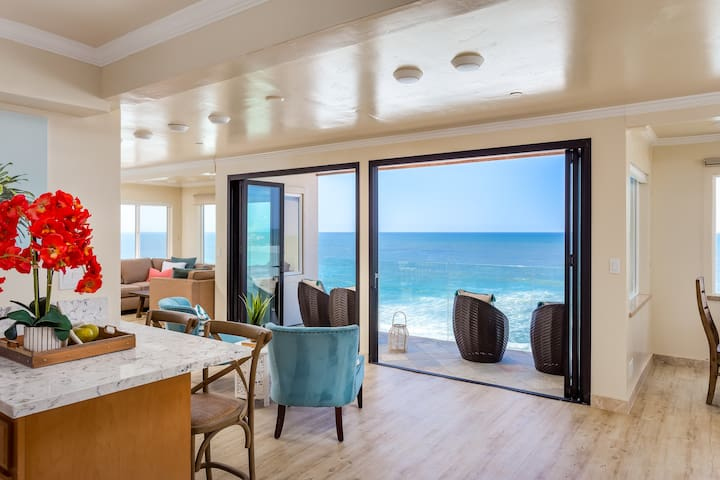 Charming Romantic Oceanfront Vacation Rental E6801-0 - Encinitas - Radhus