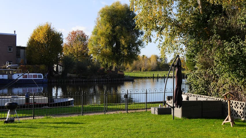 Riverside family paradise close to Amsterdam - Nederhorst Den Berg