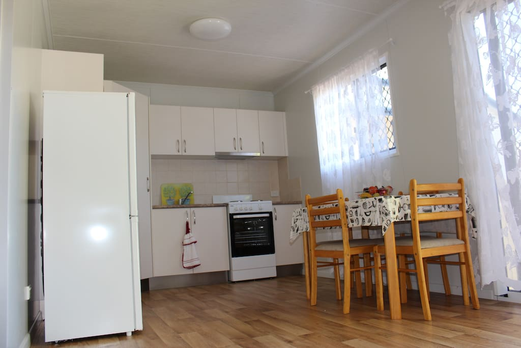 Fully self contained kitchen/dinning