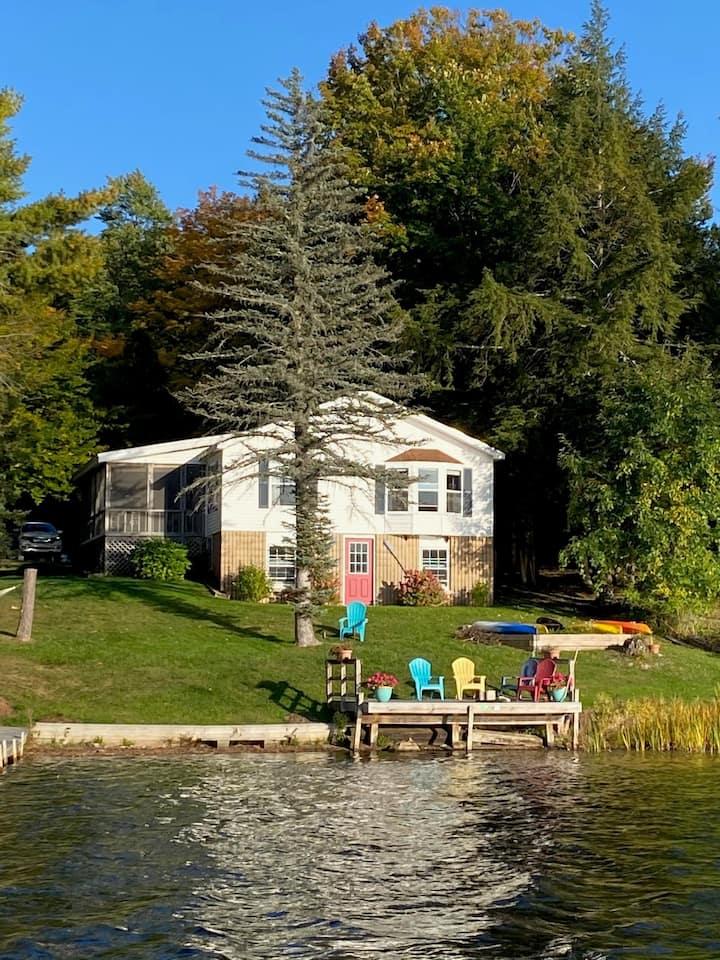 All-Season, Waterfront Home on Lake Bomoseen