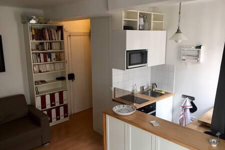 Studio à proximité de Montmartre.