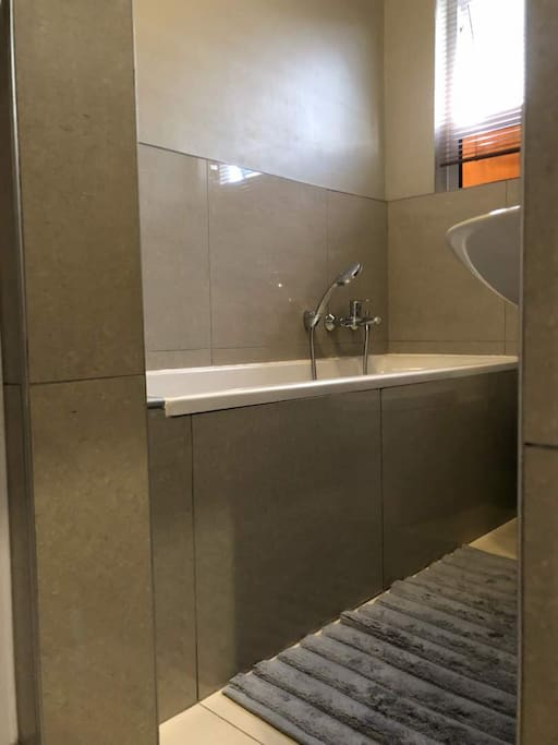 After exploring Windhoek treat yourself with a relaxing bath. Both bathrooms include a shower as well!