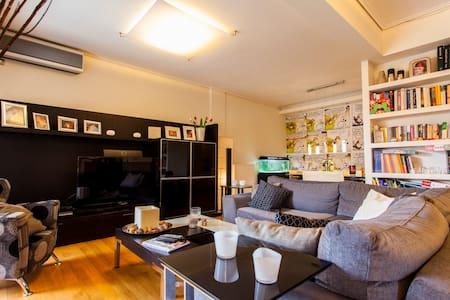 Elegant side sea view apartment - Alimos