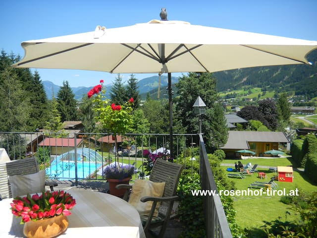 "Apartment ""Oberndorf"" at Gartenhotel Rosenhof - Oberndorf in Tirol"