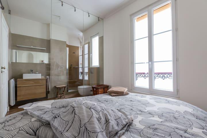 46m2 Lovely flat in a true parisien ne..
