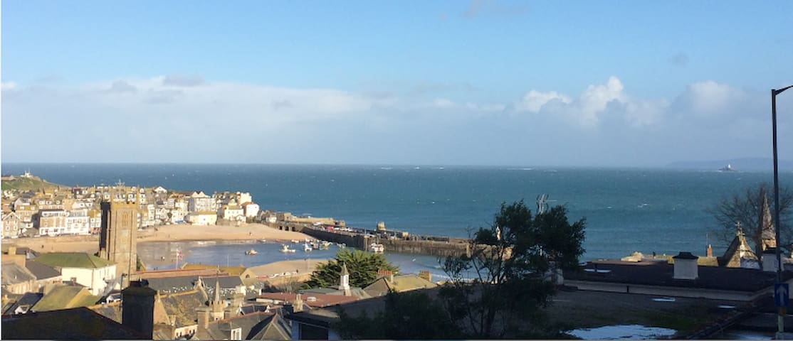 Harbour Views, 500m from the beach! - Saint Ives - Apartment