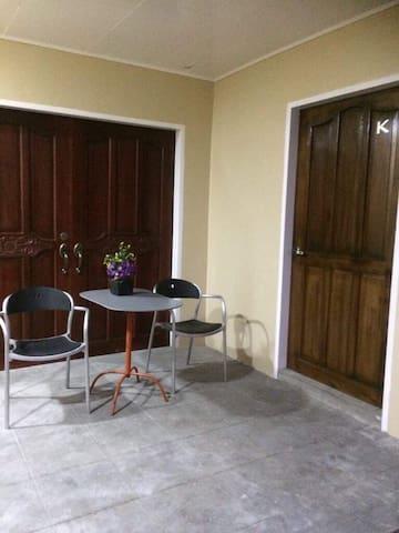 Room K : Private Room with Veranda