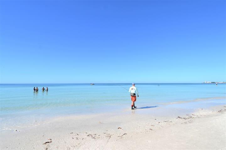 #1 Beach in US - Siesta Key Beach, a 2 block walk