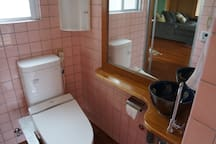 Washlet with heated seat  ウォッシュレット、