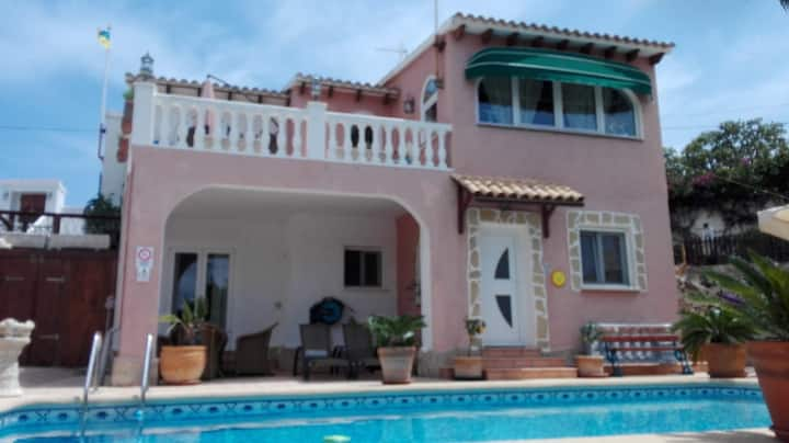 Casa Tres Coronas-Annexet I vackra Calpe