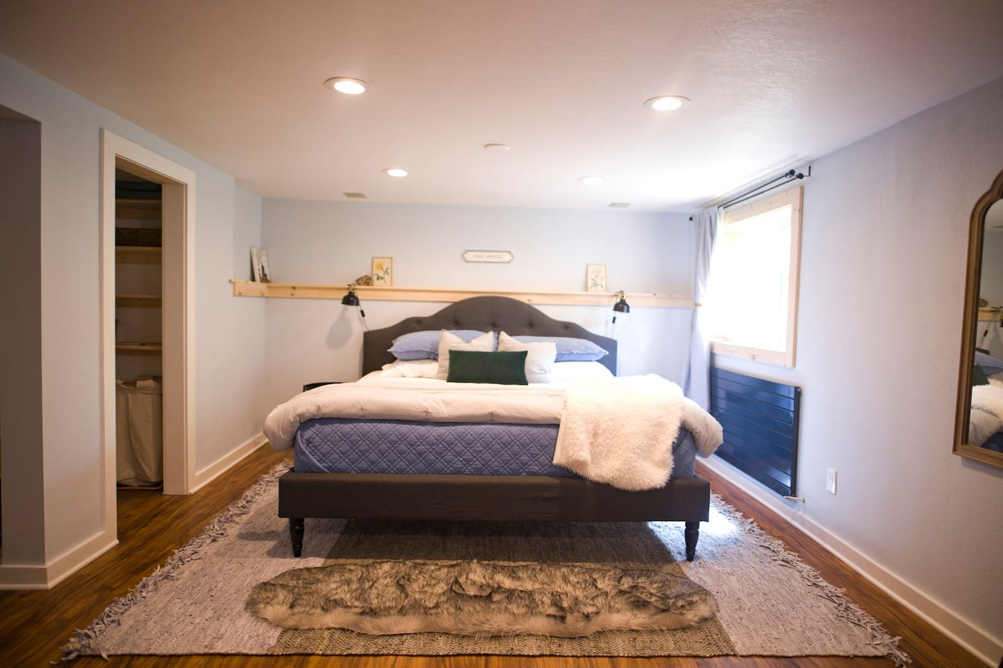 """""""It was hard getting out of bed because it was so comfortable. I had to ask the host what kind of mattress they purchased because I want to get one myself!"""" - Gloria, a happy guest"""