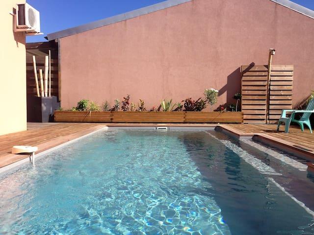 Villa moderne T4 - vue mer - piscine - Saint leu - Piton Saint-Leu - Villa